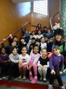 Els nens i nenes de 2n de primària van celebrar el carnestoltes amb molta il.lusió i participació.